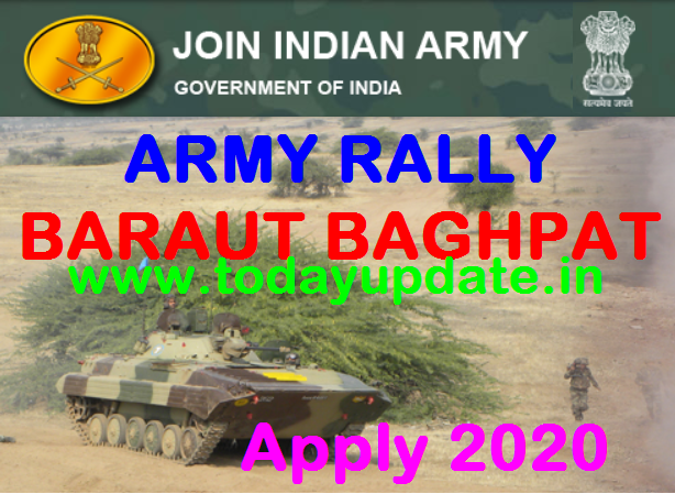 Baraut Army Rally Bharti 2020-2021 army rally